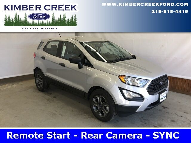 2019 Ford EcoSport S Pine River MN