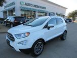 2019 Ford EcoSport Titanium NAV, SUNROOF, BLIND SPOT, HEATED SEATS, APPLE CAR PLAY, ANDROID AUTO, BACKUP CAM,