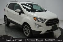 Ford EcoSport Titanium NAV,CAM,SUNROOF,HTD STS,PARK ASST,17IN WL 2019