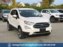 2019 Ford EcoSport Titanium South Burlington VT