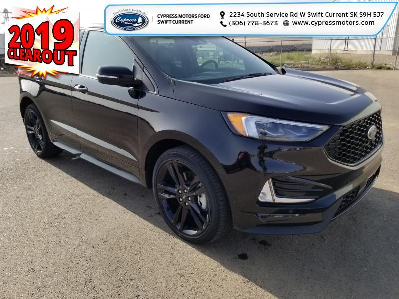 2019 Ford Edge ST AWD  - Leather Seats -  Heated Seats - $425 B/W Swift Current SK