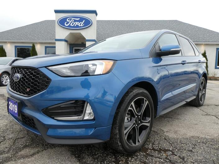 2019 Ford Edge ST Navigation Heated Seats Remote Start Essex ON