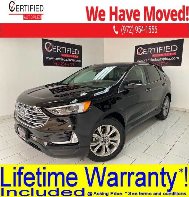 2019 Ford Edge TITANIUM AWD PANORAMIC ROOF NAVIGATION BLIND SPOT ASSIST LANE AS Dallas TX