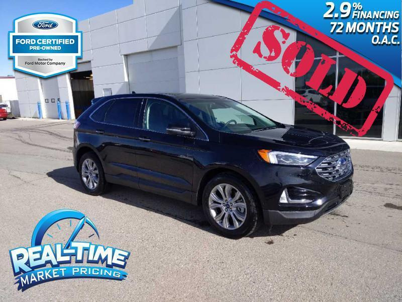 2019_Ford_Edge_Titanium AWD_ Claresholm AB