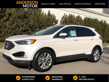 2019 Ford Edge Titanium AWD Salt Lake City UT