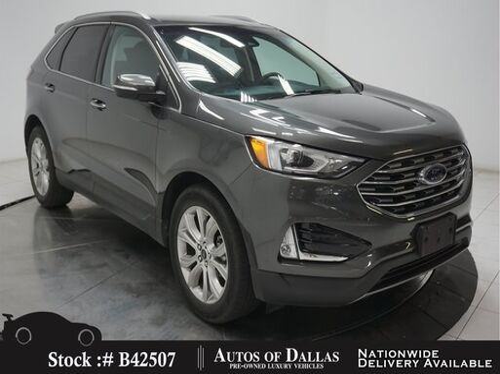 2019_Ford_Edge_Titanium CAM,HTD STS,KEY-GO,PARK ASST,19IN WHLS_ Plano TX