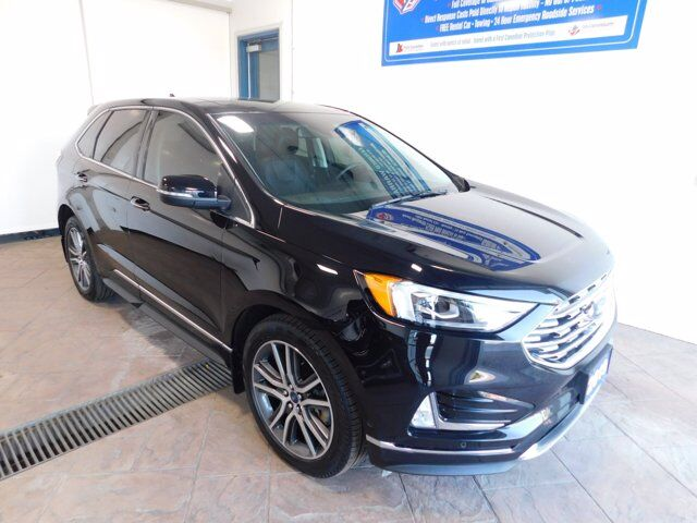 2019 Ford Edge Titanium LEATHER NAVI SUNROOF Listowel ON