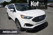 2019 Ford Edge Titanium NAVIGATION! LEATHER! SUNROOF! BACKUP CAMERA! BLINDSPOT! FULL LOAD!