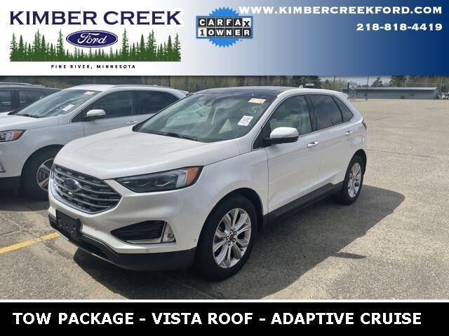 2019 Ford Edge Titanium Pine River MN