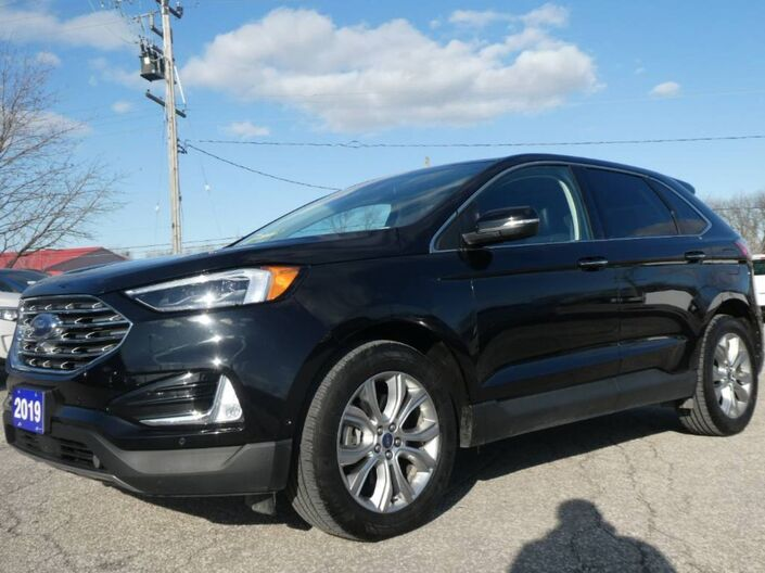 2019 Ford Edge Titanium Remote Start Navigation Panoramic Roof Essex ON
