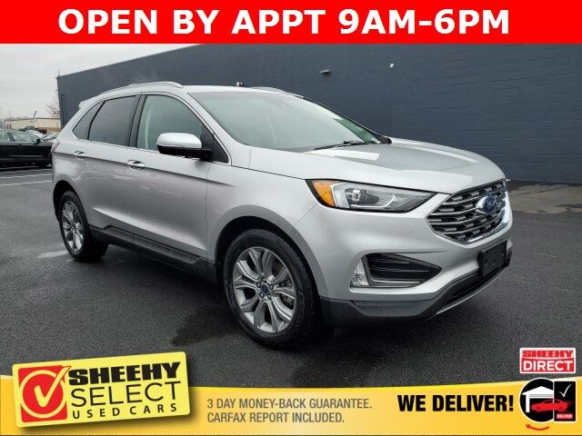 2019 Ford Edge Titanium White Marsh MD