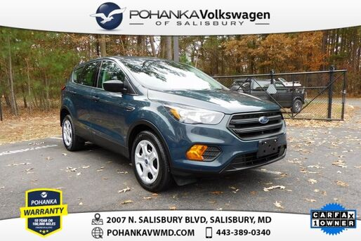 2019_Ford_Escape_S ** CLEAN CARFAX ONE OWNER ** 30 MPG **_ Salisbury MD