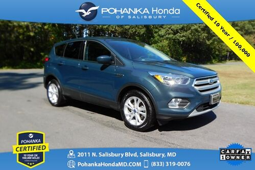 2019_Ford_Escape_SE ** Pohanka Certified 10 Year / 100,000  **_ Salisbury MD