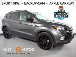 2019_Ford_Escape SE_*SPORT APPEARANCE PKG, BACKUP-CAMERA, TOUCH SCREEN, HEATED SEATS, PUSH BUTTON START, 19 INCH BLACK ALLOYS, BLUETOOTH, APPLE CARPLAY_ Round Rock TX