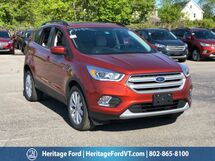 2019 Ford Escape SEL South Burlington VT