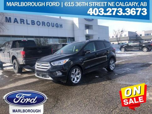 2019_Ford_Escape_Titanium 4WD  - Navigation -  Leather Seats_ Calgary AB