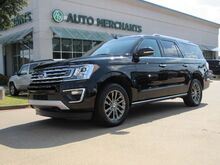 2019_Ford_Expedition_MAX Limited 4WD LEATHER, NAVIGATION, BLIND SPOT, POWER LIFTGATE, POWER FOLD 3RD ROW, UNDER WARRANTY_ Plano TX