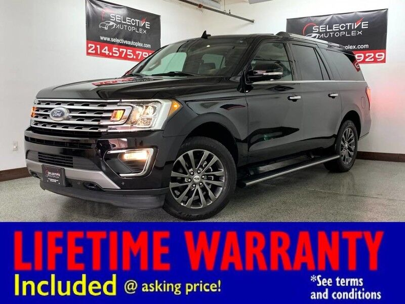 2019 Ford Expedition Max Limited AWD, NAV, PANO ROOF, REMOTE START, HEATED/COOLED FRONT SEATS