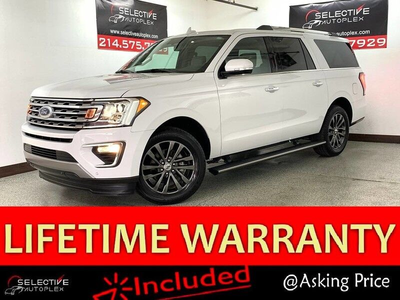 2019 Ford Expedition Max Limited, NAV, PANO ROOF, REAR VIEW CAM, HEATED FRONT/REAR SEATS Carrollton TX