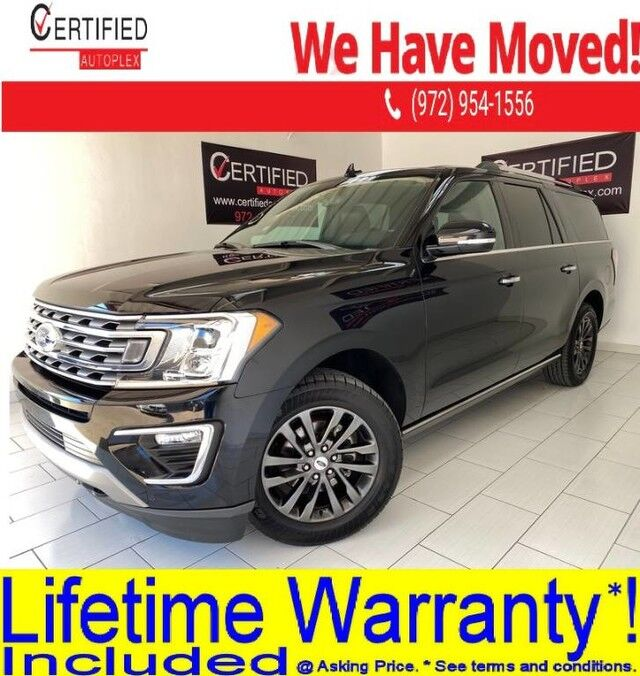 2019 Ford Expedition Max MAX LIMITED 4WD NAVIGATION PANORAMIC ROOF BLIND SPOT ASSIST REAR CAMERA Dallas TX
