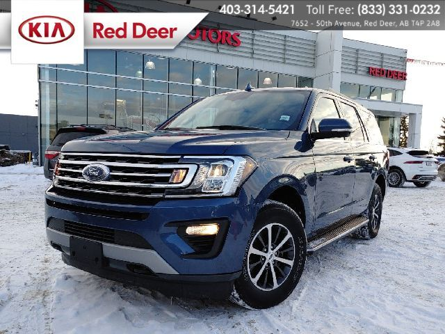 2019 Ford Expedition XLT, 4x4, EcoBoost, 8 Passenger, Heated & Vented Front Seats, Wi Red Deer AB