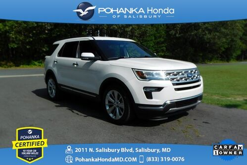 2019_Ford_Explorer_Limited ** Pohanka Certified 10 Year/100,000  **_ Salisbury MD