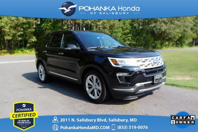 2019 Ford Explorer Limited ** Pohanka Certified 10 Year / 100,000  ** Salisbury MD
