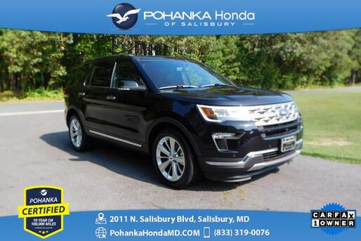 2019_Ford_Explorer_Limited ** Pohanka Certified 10 Year / 100,000  **_ Salisbury MD