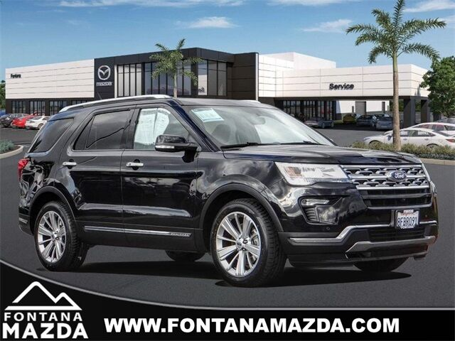 2019 Ford Explorer Limited Fontana CA