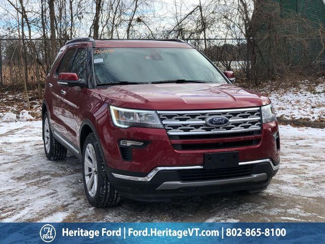 2019 Ford Explorer Limited South Burlington VT