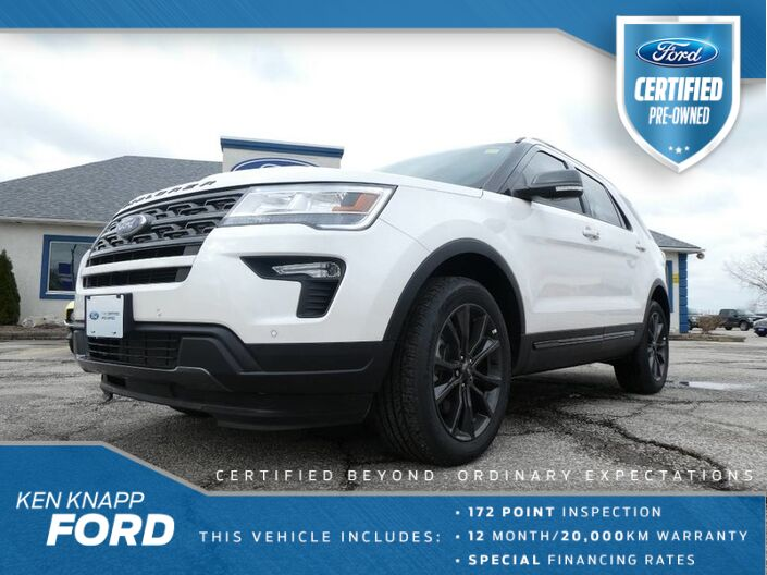 2019 Ford Explorer PANORAMIC SUNROOF- NAVIGATION- REMOTE START- LOADED Essex ON