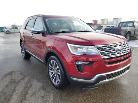 2019 Ford Explorer Platinum Swift Current SK