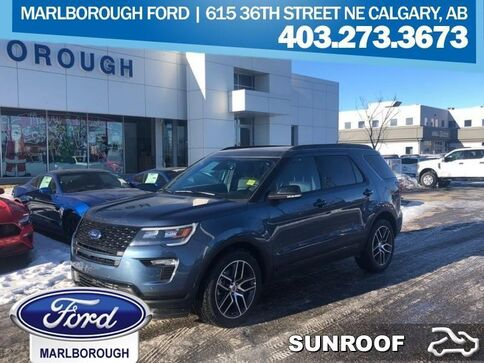 2019_Ford_Explorer_Sport  - Sunroof_ Calgary AB