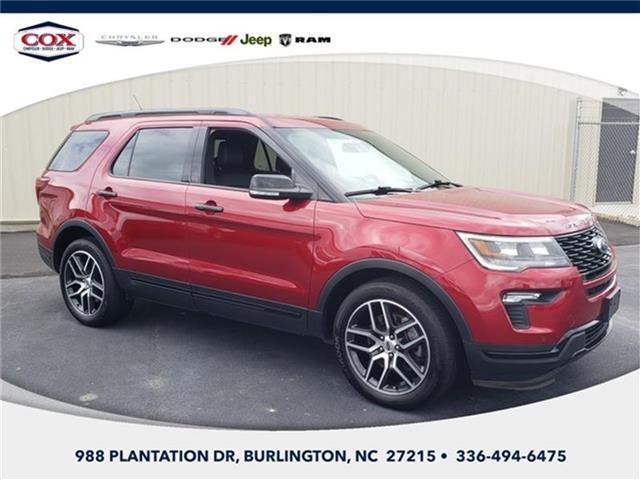 2019 Ford Explorer Sport 4x4 Burlington NC