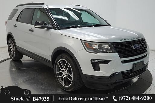 2019_Ford_Explorer_Sport NAV,CAM,HTD STS,BLIND SPOT,20IN WLS,3RD ROW_ Plano TX