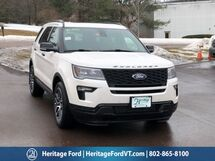 2019 Ford Explorer Sport South Burlington VT