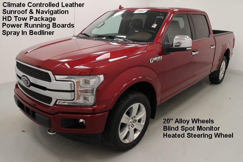 2019 Ford F-150 CREW Platinum 4WD Bonner Springs KS