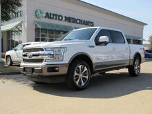 2019_Ford_F-150_King-Ranch SuperCrew 5.5-ft. 4WD Navigation system, Blind Spot Detector, Bluetooth Connection_ Plano TX