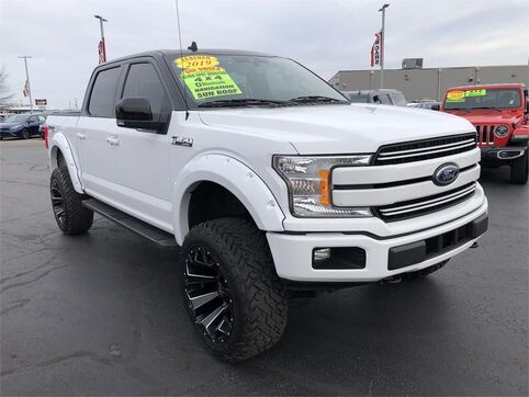 2019_Ford_F-150_LARIAT 4WD_ Evansville IN