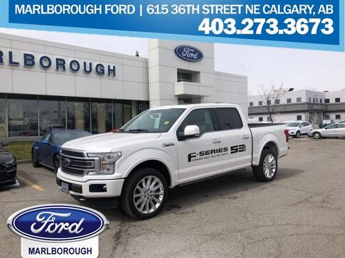 2019_Ford_F-150_Limited   - Leather Seats -  Bed Liner_ Calgary AB