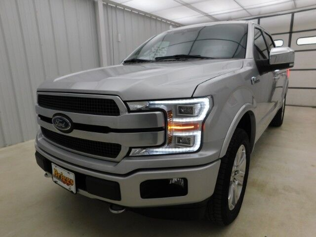 2019 Ford F-150 Platinum 4WD SuperCrew 5.5' Manhattan KS