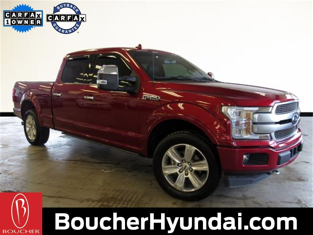 2019 Ford F-150 Platinum w/Technology and Max Trailer Tow Pkg Waukesha WI