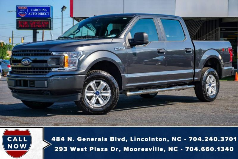 2019 Ford F-150 XL *Supercrew* 4X4 Low Miles w/ Back-Up Camera