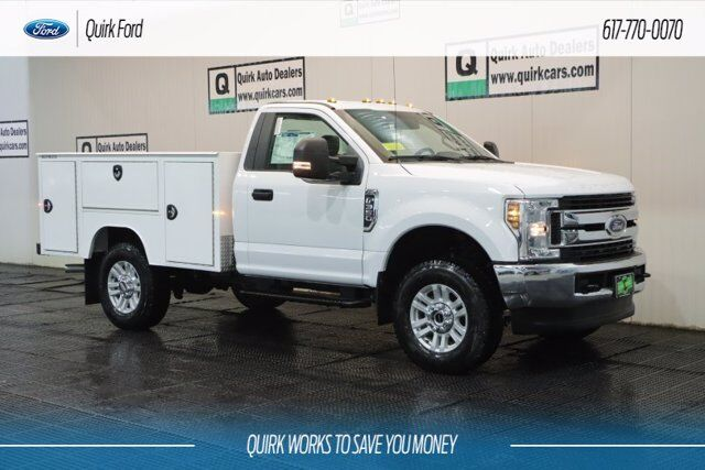 2019 Ford F-350 SRW XL SERVICE UTILITY BODY Quincy MA