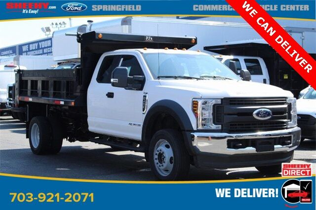 2019 Ford F-450SD XL PJ'S 11FT CONTRACTORS DUMP Springfield VA