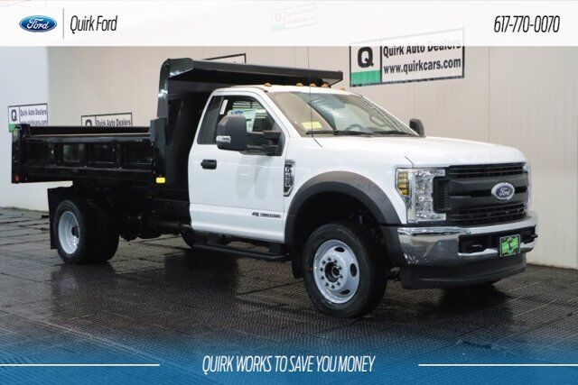 2019 Ford F-550 DRW XL 11' RUGBY ELIMINATOR 3-4 YARD DUMP BODY Quincy MA