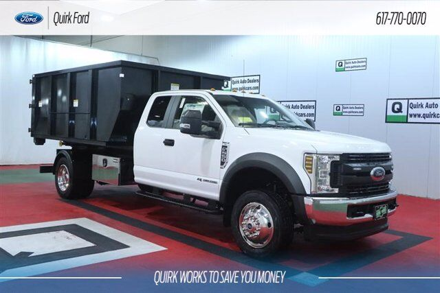 2019 Ford F-550 DRW XL 11' SWITCH N' GO ROLL OFF BODY Quincy MA