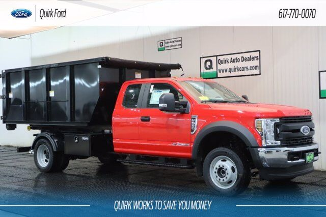 2019 Ford F-550 DRW XL SWITCH-N-GO W/ 11' DROP BOX ROLL OFF Quincy MA