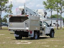 2019_Ford_F-550_Dur-A-Lift DTAX-45FP ArborTech Chipper Body (Diesel)_ Homestead FL