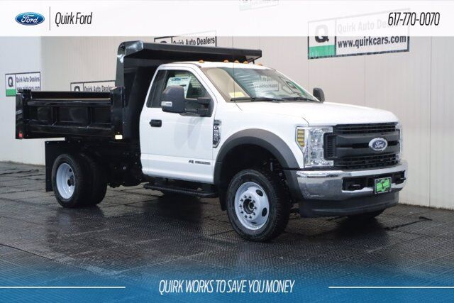 2019 Ford F-550 XL 9' RUGBY ELIMINATOR DUMP BODY Quincy MA